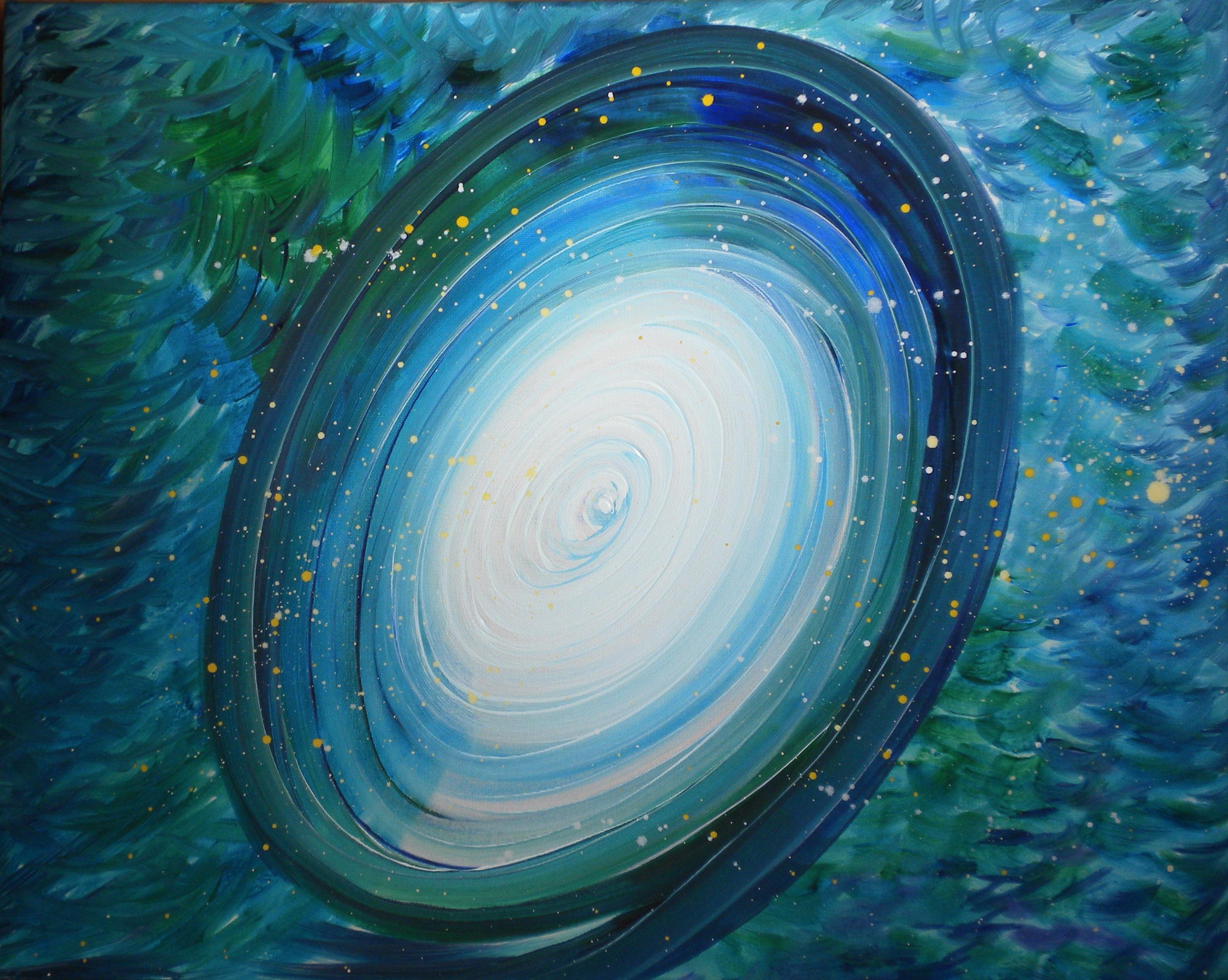 Espiral azul, María Jesús Blázquez